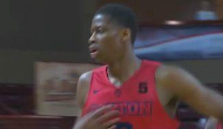 El hermano de Antetokounmpo ya brilla en la NCAA: doble-doble con espectáculo (Vídeo)