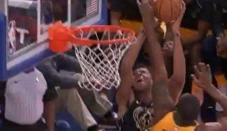 Los Jazz ganan a los Bucks con récord: tapón a Antetokounmpo, que se desquicia (Vídeo)