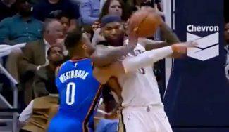 """Codazo de Cousins a Westbrook y remontada de Pelicans: """"Queríamos ganar por él"""" (Vídeo)"""