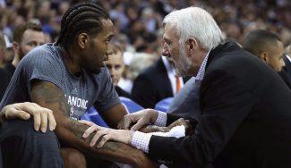 Popovich, desorientado: «nunca» ha visto una lesión como la que sufren Leonard y Parker
