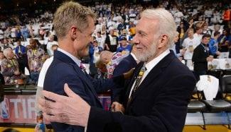 Curry y Kerr apoyarían una candidatura para presidir los Estados Unidos… ¡de Popovich!