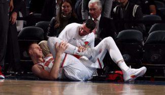 Porzingis da el susto, los Knicks ganan y Willy roza el doble-doble en sólo 9 minutos (Vídeo)