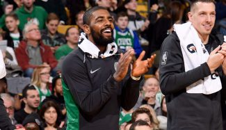 El mensaje motivador de Kyrie Irving a sus compañeros de los Celtics