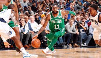 """Los Celtics remontan y elevan su racha a 16-0 con Irving desatado: """"Unidos en todo"""" (Vídeo)"""
