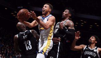 """""""En la segunda parte se alocó"""". Los Warriors sobreviven a un final sin Curry y Kerr le reta"""