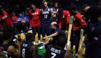Tres ex ACB lideran la versión B de USA para ganar a México: matazo de Holmes (Vídeo)