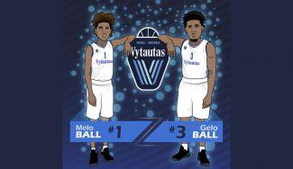 Los Ball ya tienen dorsales: sus camisetas lituanas se venderán en USA