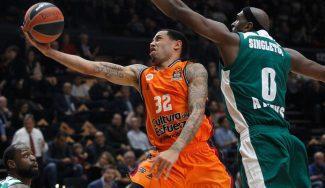 Erick Green lidera el heroico triunfo del Valencia ante el Panathinaikos