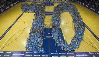 El Estudiantes homenajea sus 70 años de historia en la tradicional foto de cantera