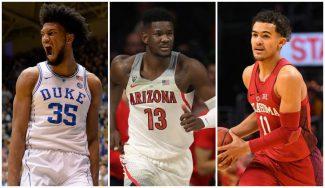 Tres candidatos a número 1 del Draft, desatados en la NCAA