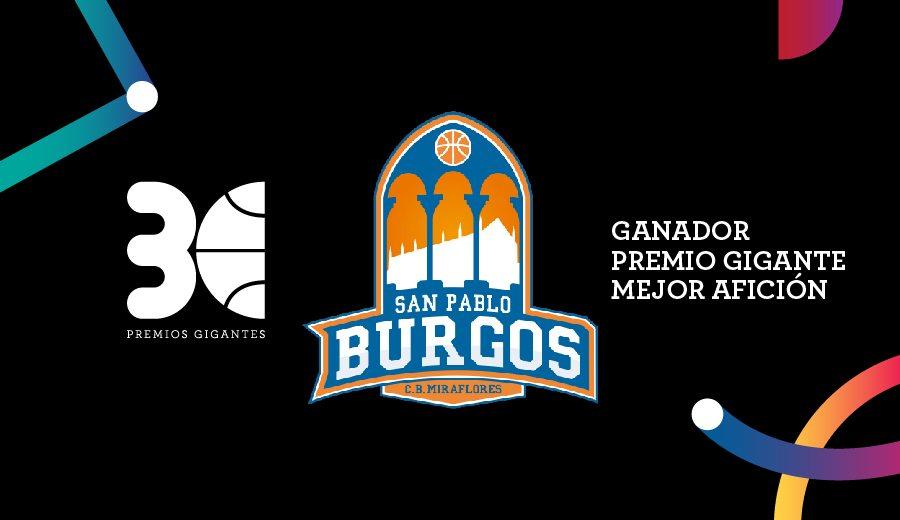 La afición del San Pablo Burgos gana el Gigante a la Mejor Afición: así quedaron las votaciones