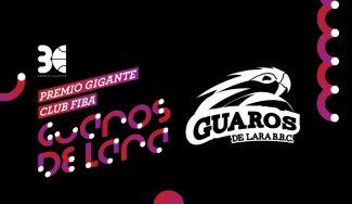 El Guaros de Lara se lleva el Premio Gigante al Mejor Club FIBA 2017