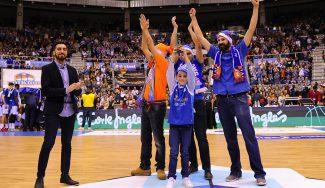 Así recibió la afición del Burgos el Premio Gigante a la Mejor Afición
