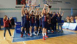 El Barça vence al Madrid y se lleva el Torneo Junior de Tenerife: Luka Samanic, MVP