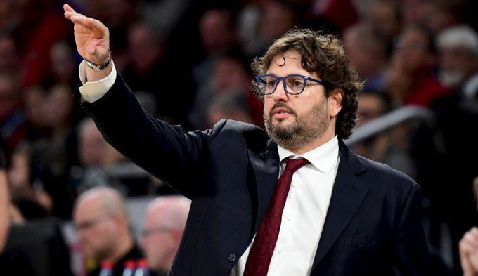"""Trinchieri, tras ganar al colíder Olympiacos: """"Mis jugadores tienen una cosa: pelotas"""""""