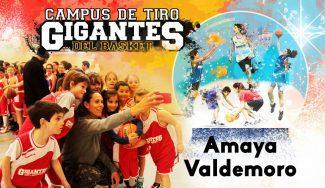 Amaya Valdemoro, invitada de lujo en el Campus Gigantes de tiro de Navidad