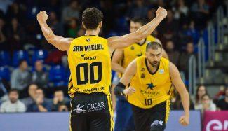El Canarias asalta el Palau: Ponitka es MVP y San Miguel anota la canasta decisiva (Vídeo)