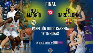 Sigue la final del Torneo de Tenerife entre Madrid y Barça gracias a Basket Cantera TV