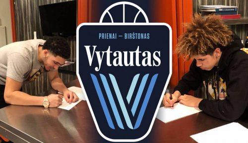 """Los hermanos Ball fichan por el Vytautas, un modesto club lituano: """"No es por dinero"""""""