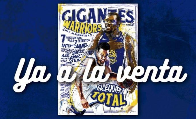 El equipo total. Radiografía de los Warriors, en tu Gigantes de diciembre