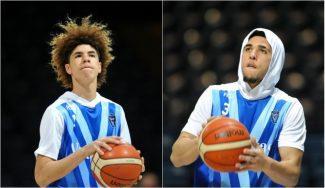 Los Ball no dan la talla en su estreno en la Liga Lituana: show de LaVar