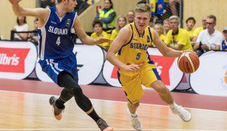 Recambio del recambio en el Canarias: así jugó Tobias Borg con Suecia