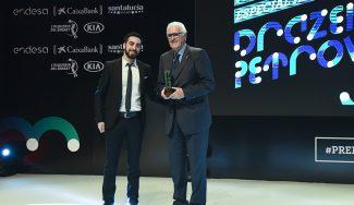 «Era especial». Lolo Sainz recuerda a Petrovic en los Premios Gigantes