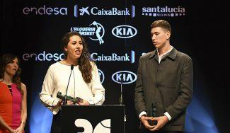 María Araújo y Joel Parra, jóvenes protagonistas de los Premios Gigantes