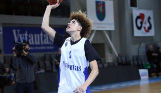 El Zalgiris pide la cesión de LaMelo Ball para el Adidas NGT de Kaunas