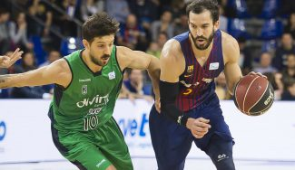 El Barça frustra el debut de Laprovittola: asistencia top con caño a Tomic