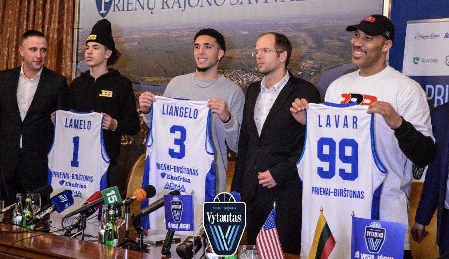 Efecto Ball: el Vytautas renuncia a la Liga Báltica para jugar 5 amistosos