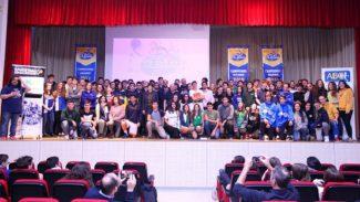 La Copa Colegial 2018 se presenta en el Colegio Maristas Chamberí con Arlauckas de embajador