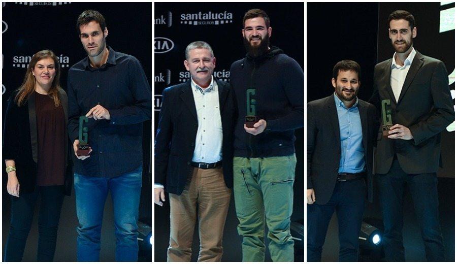 San Emeterio, Dubljevic y Sastre dejan huella en los Premios Gigantes