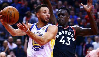 Toronto roza la épica ante los Warriors en un final polémico: «5 contra 8»