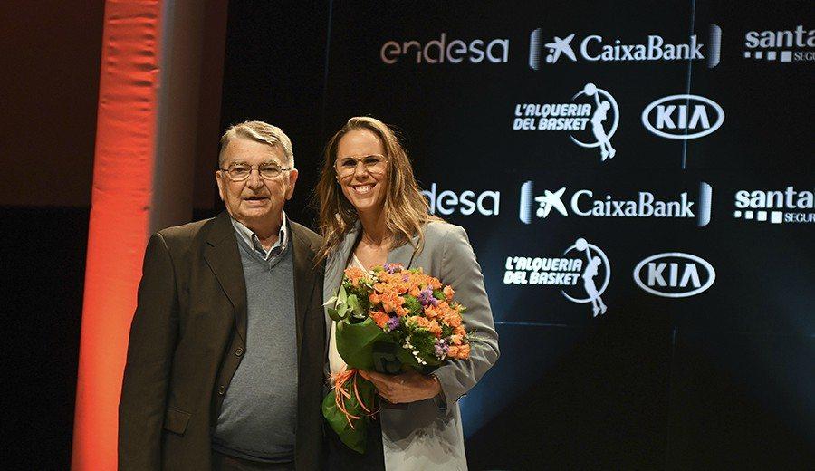 Emotivo reencuentro en los Premios Gigantes: Valdemoro y Vukovic
