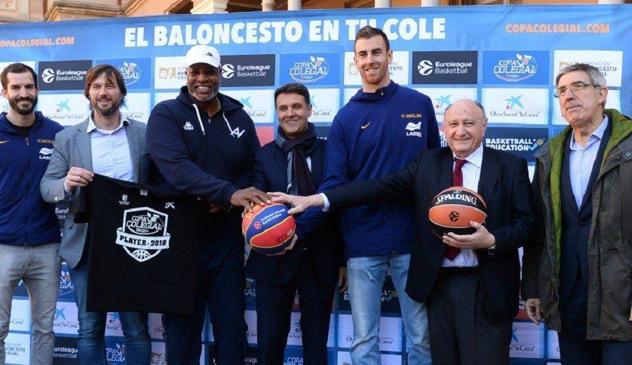 Ribas y Claver, estrellas en la presentación del nuevo curso de 'Basketball is Education'