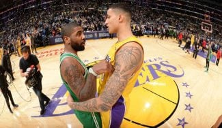 Duelazo Kuzma-Irving: ganan los Lakers pese al desastre en tiros libres