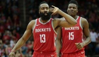 Los Rockets frenan a los Warriors: triple y tapón decisivos de Harden