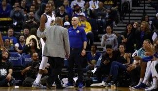 Durant, expulsado tras su récord de asistencias: «El árbitro me buscó»