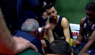Cachete de Obradovic a un pupilo: el Banvit les gana en el último suspiro