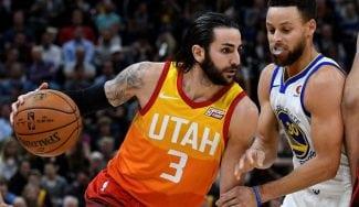 Ricky lidera puntos y asistencias de los Jazz en la paliza a los Warriors