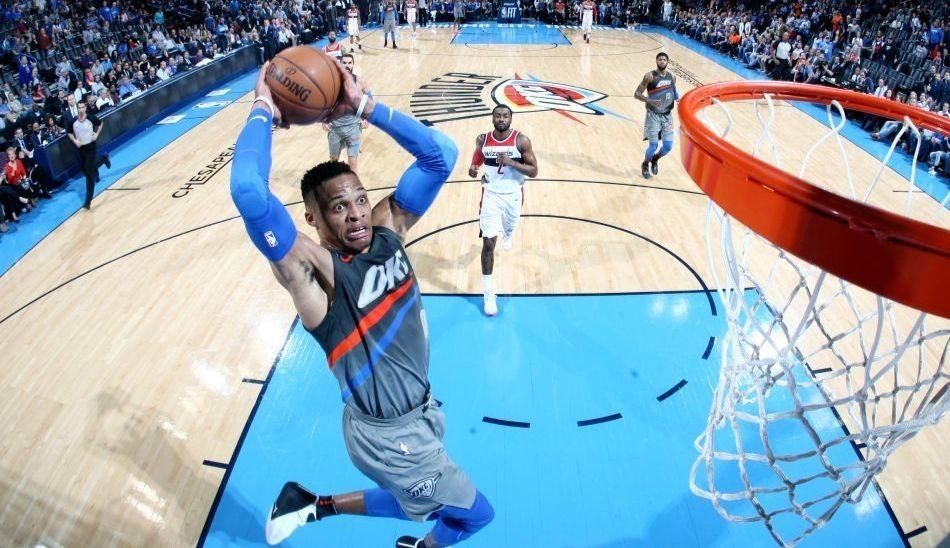 Westbrook mete 46 puntos picado por un malentendido con el All-Star