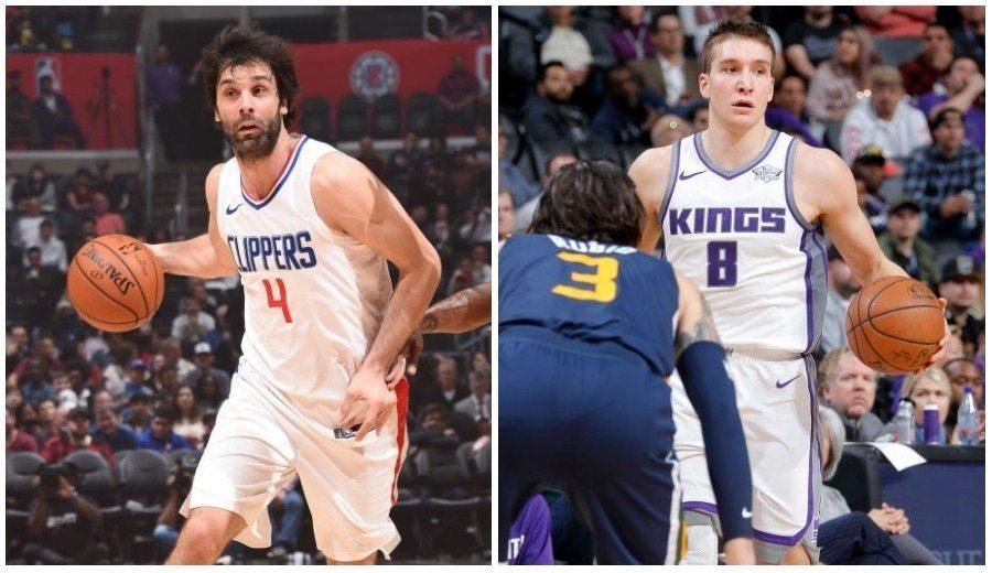 Cara y cruz para los topes anotadores NBA de Teodosic y Bogdanovic