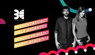 Quique Peinado y María Victoria Albertos presentarán la Gala de los 30º Premios Gigantes