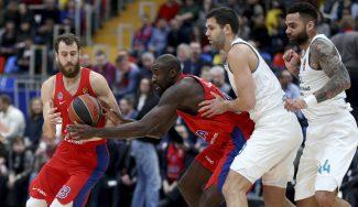 El Madrid paga un nefasto inicio ante CSKA: brillan el Chacho y Hunter