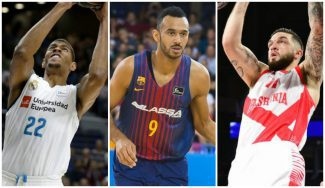 Tavares, Hanga y Poirier, candidatos a 'Mejor Defensor' de la Euroliga