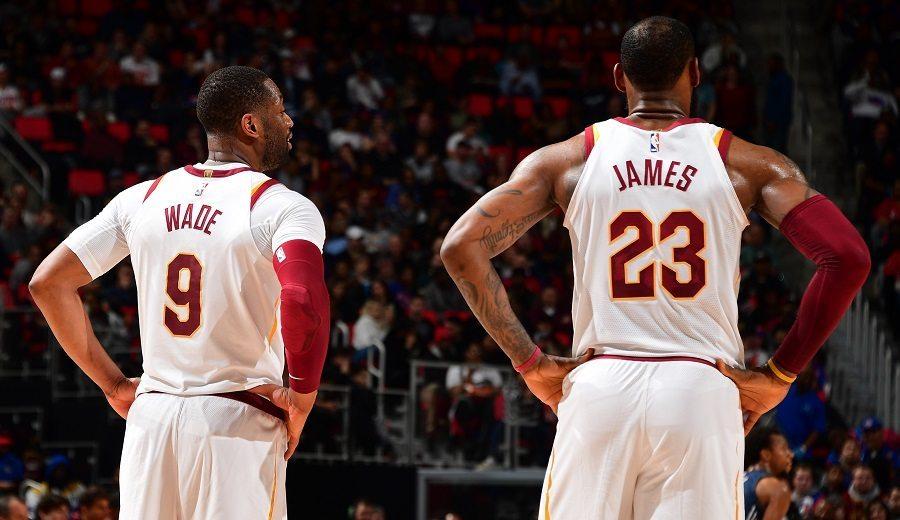 """Wade se desentiende del futuro de LeBron en Miami: """"Es su decisión"""""""