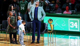 """Los Celtics retiran la camiseta a Paul Pierce: """"Esto es suficiente para mí"""""""