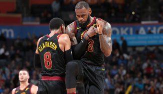 LeBron lidera a los renovados Cavs y su banquillo marca un nuevo récord