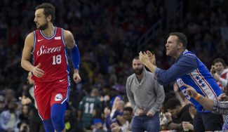 El nuevo fichaje europeo de Philadelphia 76ers se sale en su debut
